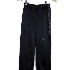 Nike Therma Fit Boys Kids Black Sweatpants Pants S
